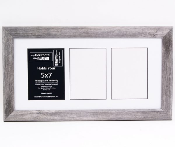 Previous Next 5 7 Inch 2 8 Opening Driftwood Picture Frame 44 95 79 95 5 7 Inch 2 8 Opening Driftwood Picture Frame Size Choose An Option 2 Opening 10x12 3 Opening 10x20 4 Opening 10x24 5 Opening 10x32 6 Opening 10x36 7 Opening 10x40
